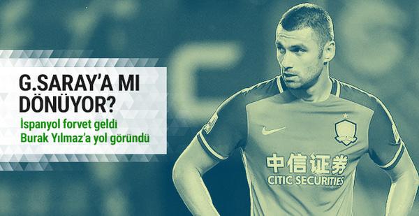 Burak Yılmaz Galatasaray'a dönüyor