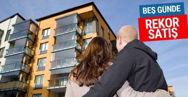 20 yıl vadeli konut satışında rekor 5 günde kaç ev satıldı?