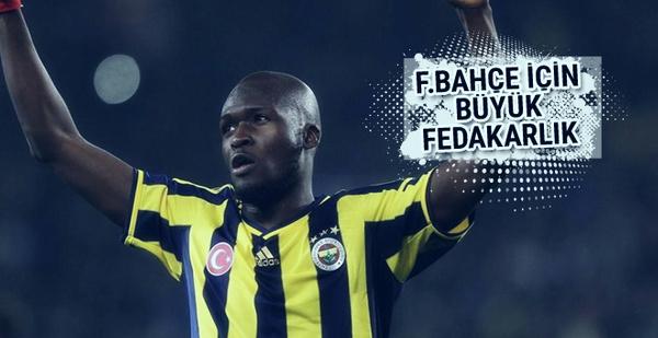 Moussa Sow'dan Fenerbahçe'ye büyük fedakarlık