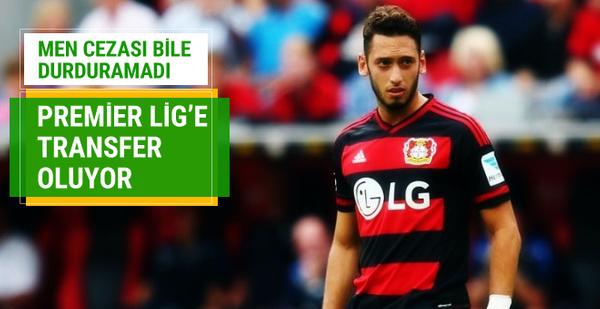 Hakan Çalhanoğlu Premier Lig'e transfer oluyor