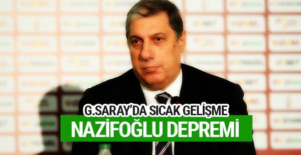 Galatasaray'da Levent Nazifoğlu depremi