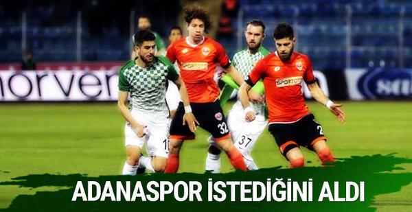 Adanaspor Akhisar Belediyespor maçı sonucu ve özeti