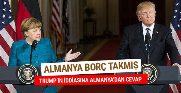 Trump'ın iddialarına Almanya'dan cevap