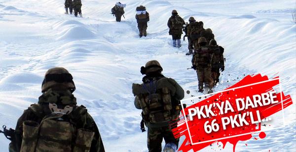 Nevruz öncesi PKK'ya ağır darbe!