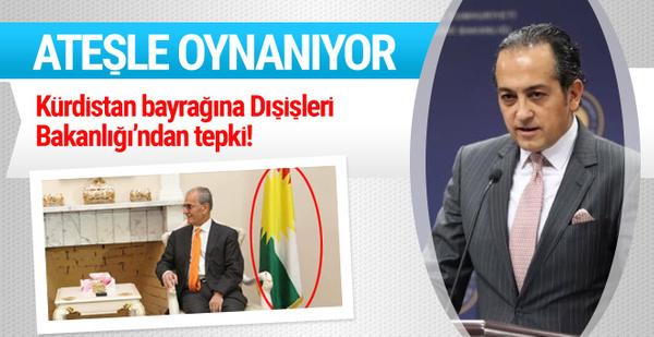 Türkiye'den IKBY bayrağına tepki!