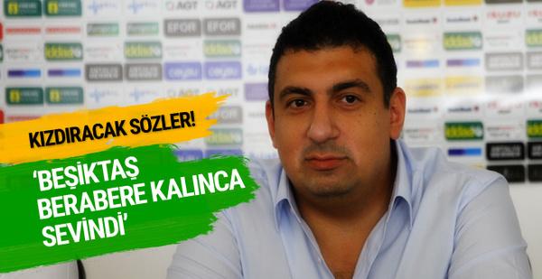 Ali Şafak Öztürk'ten Beşiktaş'a gönderme!