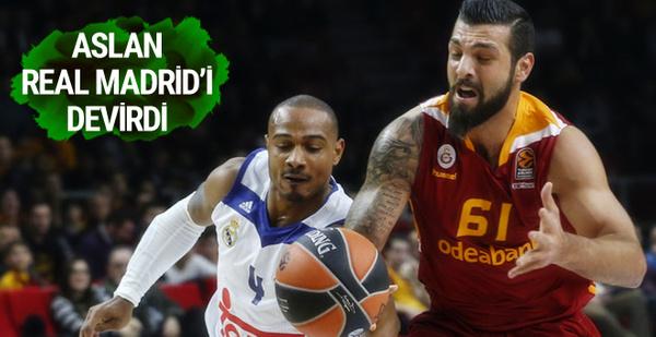 Galatasaray Odeabank Real Madrid'i devirdi