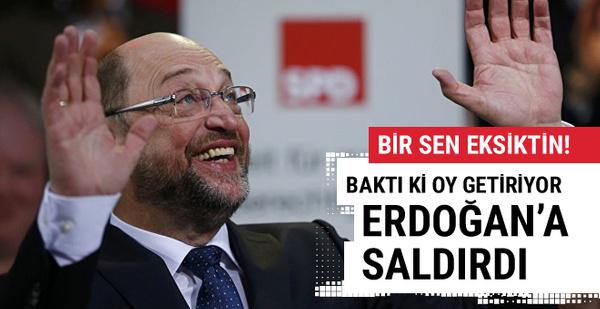 Baktı ki oy getiriyor o da Erdoğan'a saldırdı!