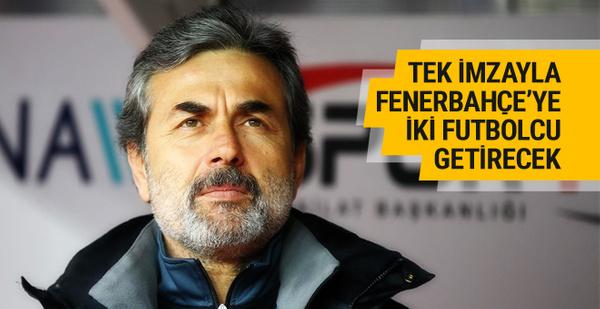 Aykut Kocaman tek imzayla F.Bahçe'ye iki oyuncu getirecek