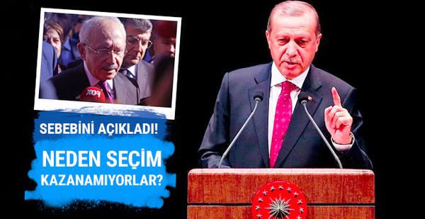 Erdoğan'dan Kılıçdaroğlu için bomba yorum!