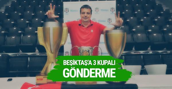 Ergin Ataman'dan 3 kupalı tepki!