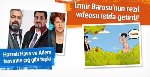 İzmir Barosu'nda peş peşe 'hayır' istifası