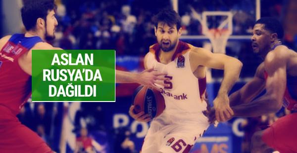 Galatasaray Odeabank Rusya'da dağıldı