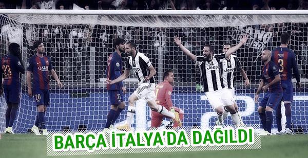 Juventus Barcelona'yı fena dağıttı
