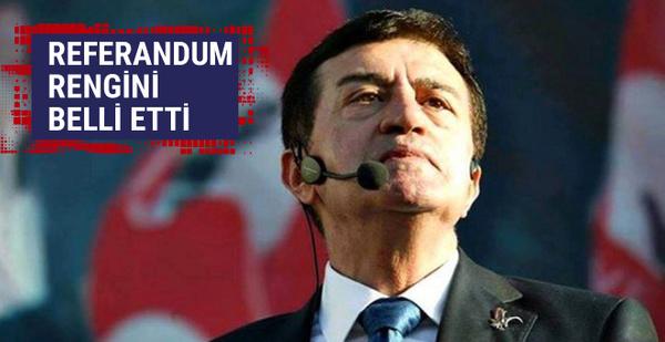 Osman Pamukoğlu referandum rengini açıkladı