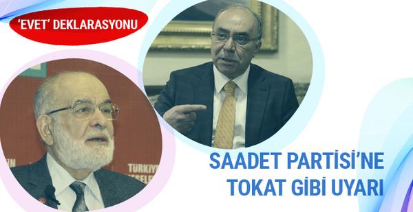 Milli Görüş'ün ağır ismi Hatipoğlu'ndan Saadet Partisi'ne tepki