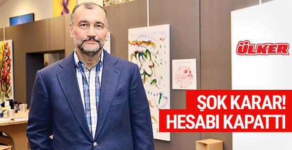 Murat Ülker'den şok karar! Kapattı