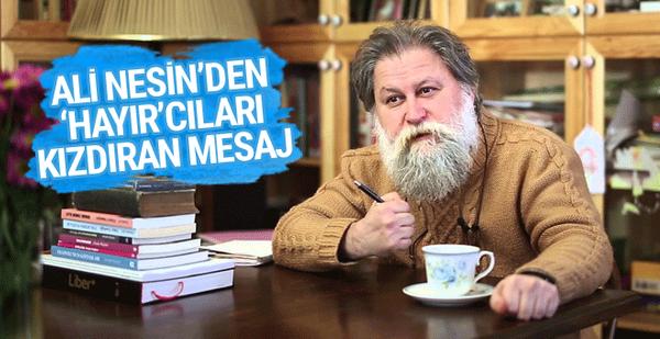 Ali Nesinden YSK kararı yorumu: Etme bulma dünyası 77