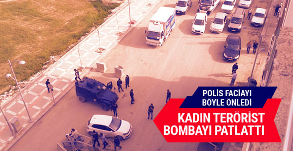 Suruç'ta emniyet müdürlüğüne bombalı araçla saldırı