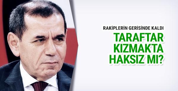 Dursun Özbek'in derbi karnesi