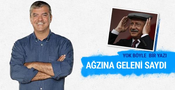 Yılmaz Özdil'in bugünkü Kılıçdaroğlu yazısının her satırı olay!