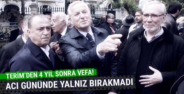 Fatih Terim'den Galatasaraylı yöneticiye 4 yıl sonra vefa