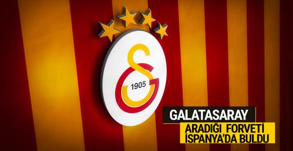 Galatasaray aradığı forveti İspanya'da buldu
