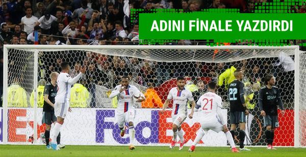 Lyon'u deviren Ajax finale adını yazdırdı