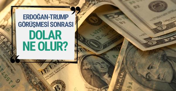Dolar Erdoğan-Trump görüşmesi sonrası ne olur? ( Dolar kaç TL 16 Mayıs 2017)
