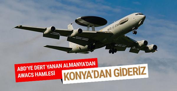 Almanya'dan İncirlik için AWACS resti