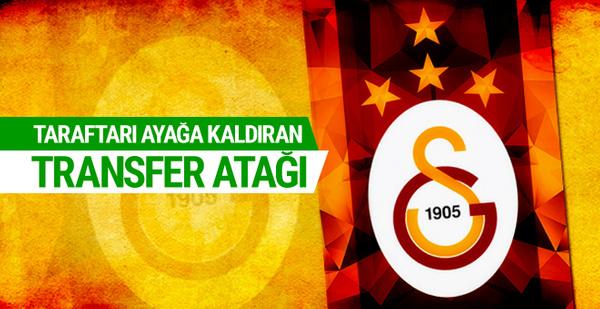 Galatasaray'dan taraftarı ayağa kaldıracak transfer!