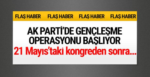 AK Parti gençleşme operasyonu başlıyor Erdoğan sinyali verdi