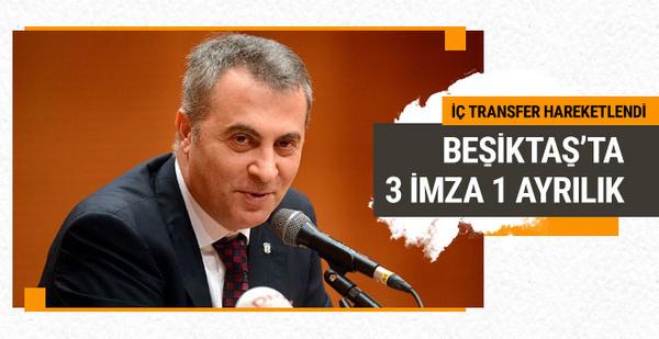 Beşiktaş yeni sezon öncesi iç transfere yöneldi