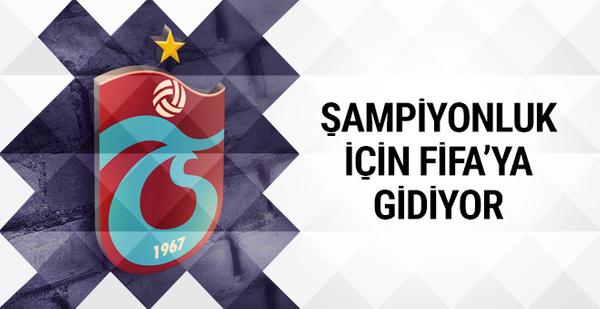 Trabzonspor FIFA'ya gidiyor!