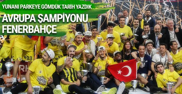 Fenerbahçe Olympiakos final maçı geniş özeti