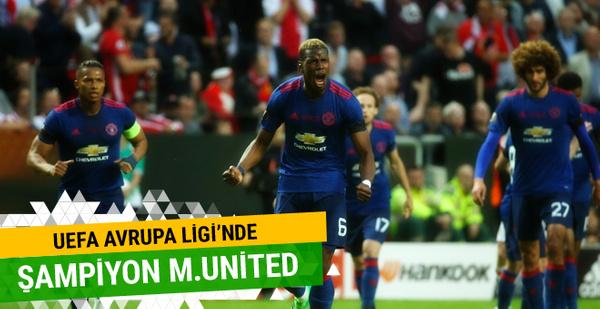 Ajax-Manchester United maçı golleri ve geniş özeti