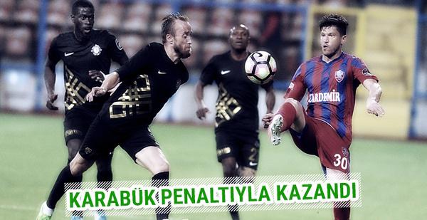 Kardemir Karabükspor Osmanlıspor maçı sonucu ve özeti