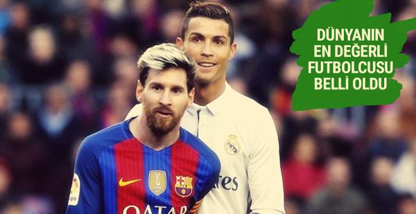 Dünyanın en değerli futbolcusu belli oldu