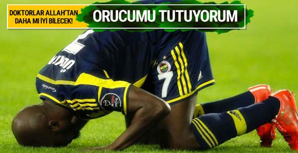 Moussa Sow'dan oruç isyanı!