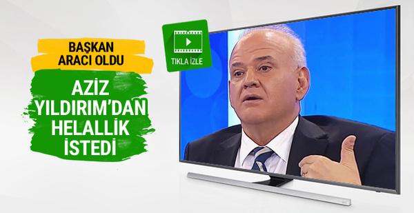 Ahmet Çakar Aziz Yıldırım'dan helallik istedi