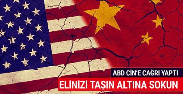 ABD, DEAŞ konusunda Çin'den bunu istedi
