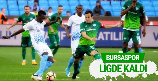 Trabzonspor Bursaspor maçı golleri ve geniş özeti
