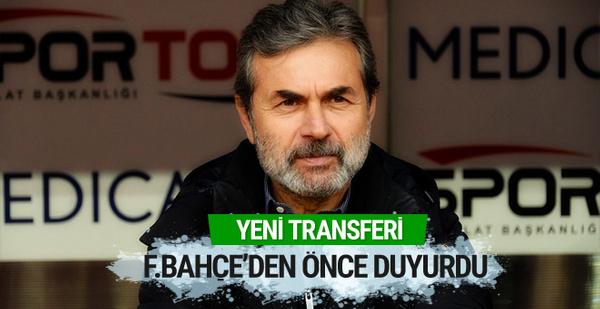 Aykut Kocaman yeni transferi Fenerbahçe'den önce açıkladı