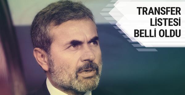 Aykut Kocaman'ın transfer listesi netleşti