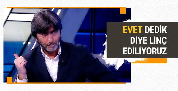 Rıdvan Dilmen Arda Turan'ı savunmaya devam ediyor