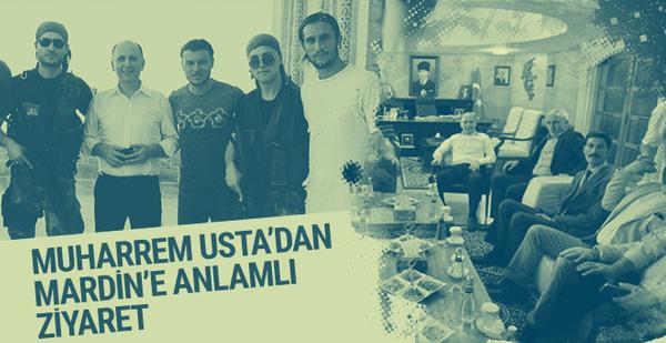 Muharrem Usta'dan Mehmetçik'e ziyaret