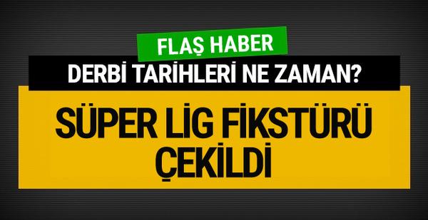 Spor Toto Süper Lig'de 2017-2018 fikstürü çekildi