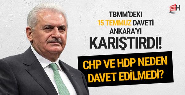 Başbakan Yıldırım'dan CHP'ye 15 Temmuz açıklaması