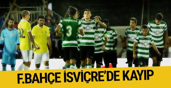 Fenerbahçe Sporting Lizbon maçı sonucu ve özeti