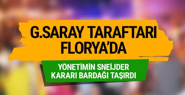 Galatasaray taraftarı Florya'da!